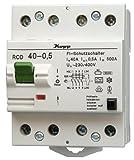 Kopp 754045089 Fehlerstromschutzschalter SF-RCD, 4-polig, 40 A, 500mA