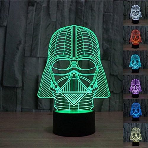 Foto SmartEra® 3D Star Wars Darth Vader Modello 7 Tipo di cambiare i colori...