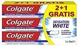 Colgate Sensation White Zahnpasta (2+1 gratis), 75 g