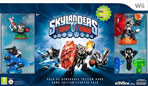 SKYLANDERS TRAP TEAM ( STARTER PACK ) - DARK EDITION : Nintendo Wii , FR (Team Dark Edition-trap Skylanders)