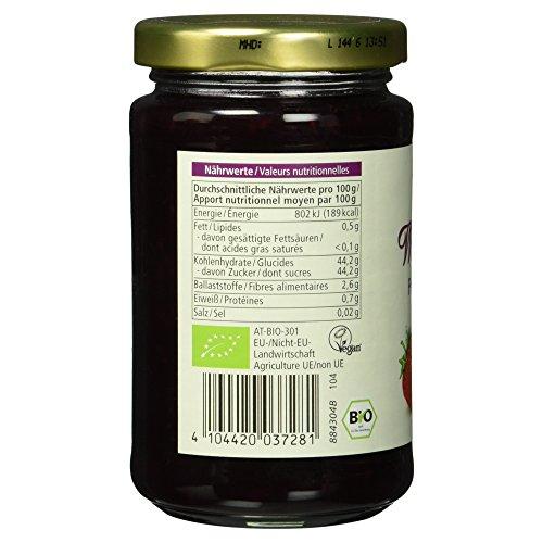 Alnatura Bio Fruchtaufstrich Waldfrucht, vegan, 6er Pack (6 x 250 g) - 6
