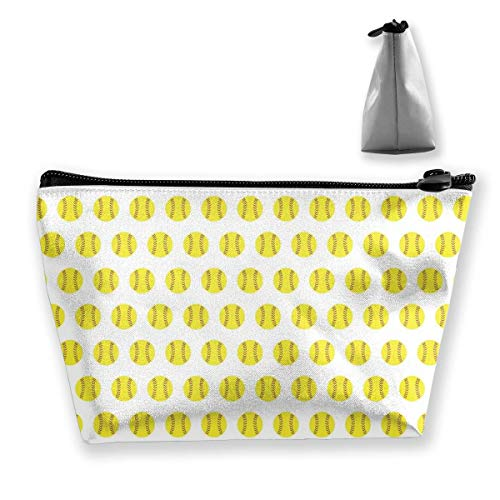 Tragbare Reisetasche Softball Repeat Zipper Wallet ()
