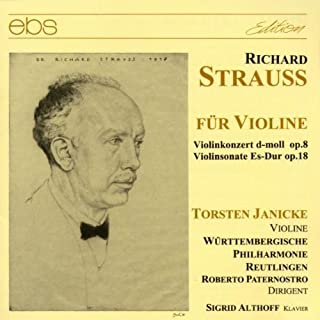 Strauss: Works for Violin by Janicke (1999-05-01)