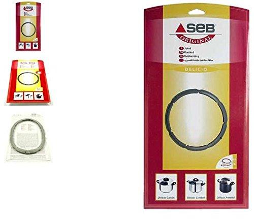 SEB - joint 4.5/6 l inox delicio classic ø 220 pour autocuiseurs / cocotes minutes SEB