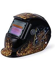 YALTOL Skull Solar Auto Oscurecimiento MIG MMA Máscaras Máscara de Soldadura eléctrica/Casco/Soldador