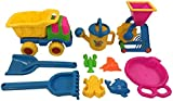 Kids Sand, Sandpit, Beach Toy Play Set (9 piece)
