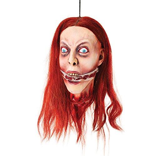 Bristol Novelty hi242zum Aufhängen Kopf begeistern, One size, Rot (Halloween Für Hangman-spiele)