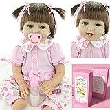 Reborn Baby Doll Realista Toddlers Renacer Muñecos bebé Vinilo de...