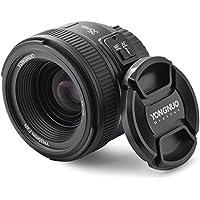 YONGNUO Lente de Auto Enfoque Fijo/Principal YN35mm Gran Angular F2N 1:2 AF / MF para Cámaras Nikon DSLR LF758