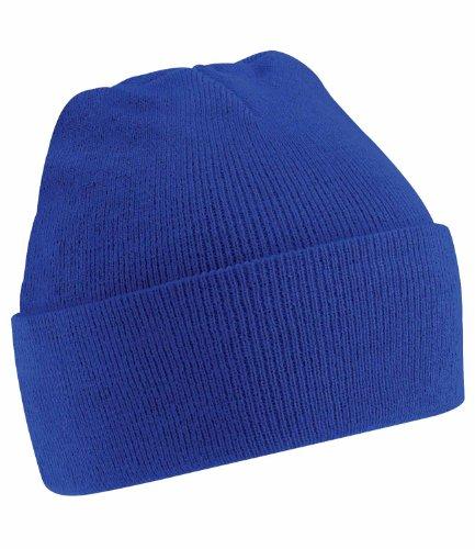 Beechfield Herren Strickmütze Blau Blu (Bright Royal Blue) Einheitsgröße