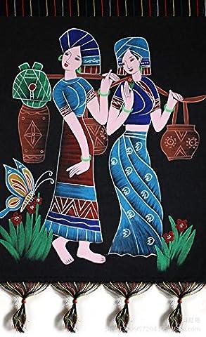 WE Batik Artisanat En Tissu Peinture Murale Peinture , 1 , 56*78Cm,1,56*78cm