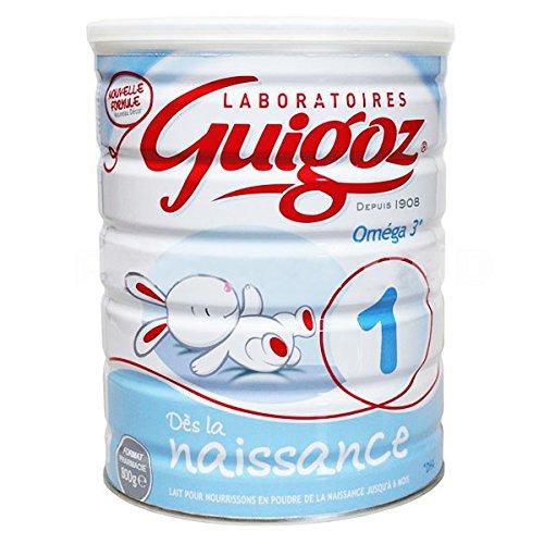 Guigoz 1 omega3 de la naissance jusqu'à 6 mois 800g