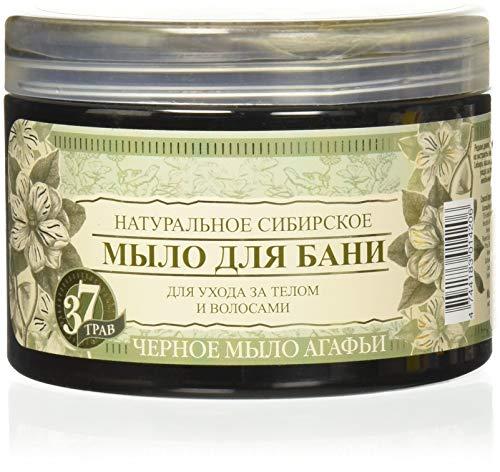 Gel Herbal Body Wash (Grandma Agafia Natural Herbal Soap Black 500ml (BA01))