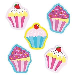 baker ross radiergummis cupcakes schreibwaren f r kinder als mitgebsel und preis beim. Black Bedroom Furniture Sets. Home Design Ideas