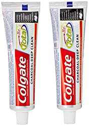 Colgate Total Charcoal Toothpaste Saver Pack - 2x120 g