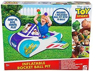 Disney Toy Story 4 Inflable Playpen Ball Pit Piscina Interior y Exterior con niños pequeños Juguetes para niños Regalos