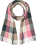 GANT Damen Schal O2. Multicheck Lambswool Scarf, (PINK Embrace Mel 687), One Size