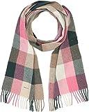 GANT Damen O2. Multicheck Lambswool Scarf Schal, PINK Embrace Mel 687, One size