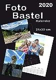 Kalender 2020 DIN A4 Fotokalender Bastelkalender DIY Bildkalender für 13 x 18 cm