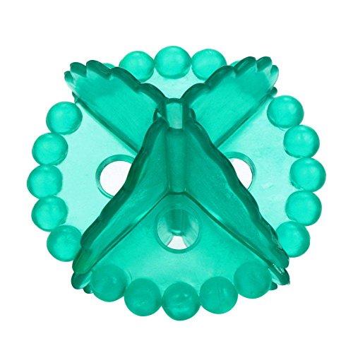Farbe Trockner (hifuture Umweltschutz Energiesparend Magic Laundry Ball weicher Kunststoff Dekontamination anti-winding Kleidung Reinigung und Pflege Ball wiederverwendbar Trockner Bälle (zufällige Farben))