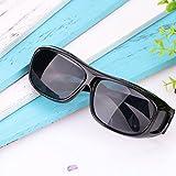 Jiayuane PC 1 Gafas de sol antideslumbrantes con gafas de visión nocturna Anti-reflejo UV400 HD polarizado protegido Protección para ciclistas deportivos