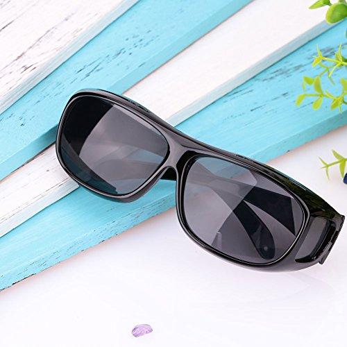 Sedeta Blendschutz UV400 geschützte polarisierte HD Nachtsicht-Gläser Blendschutz-Sport-Fahrrad-Reiter-Schutz-Sonnenbrille