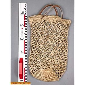 Einkaufsnetz- Tasche aus Kordel, Naturfaser