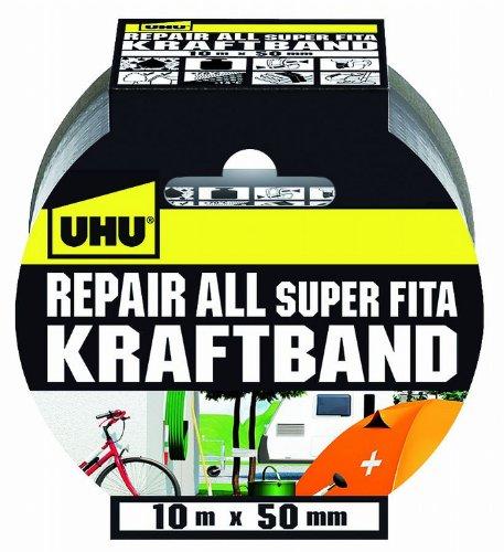 UHU 48145 Repair All Kraftband, 10 m x 50 mm