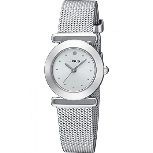 Lorus Ladies Silver Mesh Strap Bracelet Watch