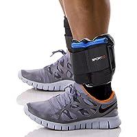 Sporteq Verstellbares Handgelenkband Knöchel-gewichte Resistance Krafttraining Training Armbänder Riemen Fitnessstudio, 1.5kg, 2.5kg,5kg