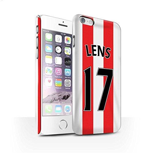 Offiziell Sunderland AFC Hülle / Glanz Snap-On Case für Apple iPhone 6 / Pack 24pcs Muster / SAFC Trikot Home 15/16 Kollektion Lens
