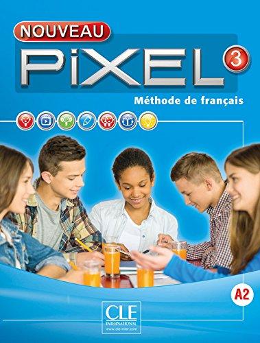 Nouveau Pixel 3 - Niveau A2 - Livre + DVD