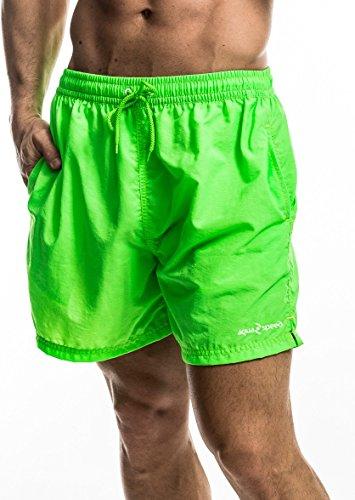 Aqua Speed James Short de bain (S à XXL Short Bermuda de bain plage Pantalon de natation Pantalon) - Green - 11