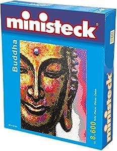 Ministeck Buda, tableros, sobre 8.600 Ladrillos y Accesorios