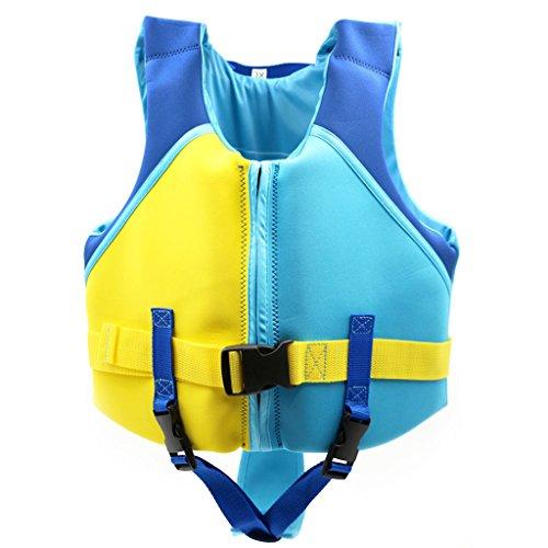 Sundwsports Kinder Float Weste Kinder die Trainingsjacke Schwimmen Schwimmen Lernen für Jungen