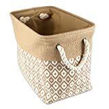 Best DII Gifts For Mothers - DII Sturdy Burlap, Collapsible, Convenient Storage Bin For Review