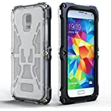 New IPX-8 Waterproof Hard Cover Case For Samsung Galaxy S3 S4 S5 Sport Swimming Diving Phone Cases Transparent Front & Back - Black