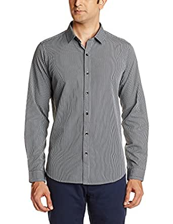 Excalibur Men's Casual Shirt (8907002702043_39_Black)