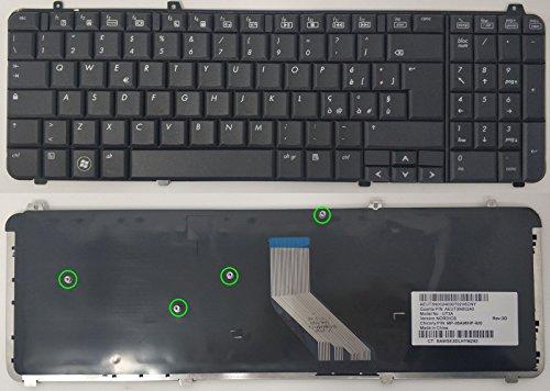 COMPRO PC Original Tastatur Keyboard für HP dv6-2002AX Layout Italienisch