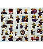 SetProducts ⭐️ Scrapbooking ⭐️ Lot de 30 Stickers Sam Le Pompier et Son équipe - Autocollants HD - Scrapbooking, Bullet Journal, Kawaii, Décoration, Customisation, Création, Bricolage, Loisir Créatif...