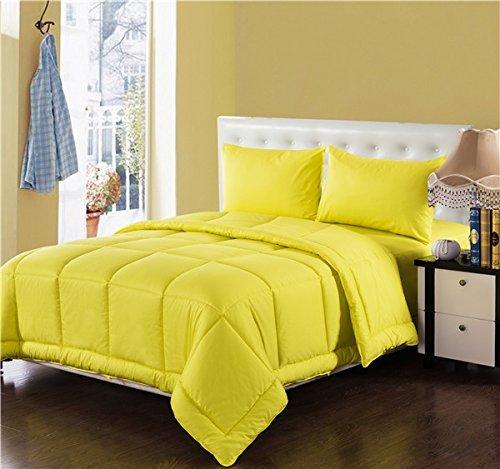 Tache Home Fashion 3-4PCOM-W/Zip-Green-CK Schmusetuch 4-teilig, California King, grün Casual California King gelb -
