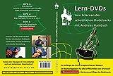 Lern-DVDs Dudelsack - Griffweise und Technik (grün), 3 DVDs