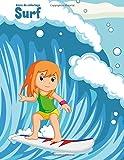 Livre de coloriage Surf 1: Volume 1