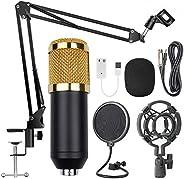 Docooler BM800 Professional Suspension Microphone Kit Studio Live Stream Broadcasting Recording Condenser Micr