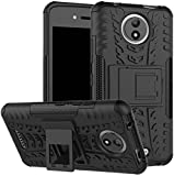Shock Proof Kick Stand Defender Back cover for Motorola Moto C Plus