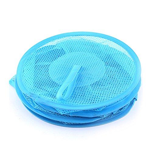 SINOTECH Pop Up Netz zum Aufhängen 3Fach Spielzeug, Wäsche, Polyester, blau, 27 x 75cm