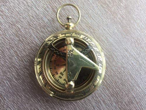 Alfiya - Brújula náutica latón Reloj