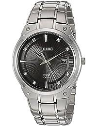 Seiko Herren-Armbanduhr SNE429P9