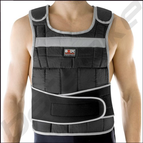 Body Sculpture Gewichtsweste Weight Vest Trainingsweste 10KG (24 Gewichte)