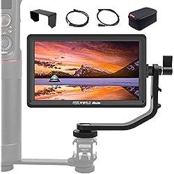 FEELWORLD Master MA6P 5.5 Pouces Moniteur Caméra Vidéo, 1920x1080 4K HDMI IPS Full HD Assistance Vidéo, Charge Caméra en Temps Téel Ecrans Visée pour Stabilisateur Gimbal DSLR Reflex Caméscope